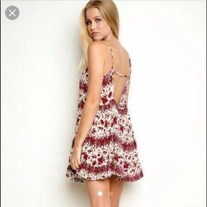 Brandy Melville Rose Jada Dress Size: One Size